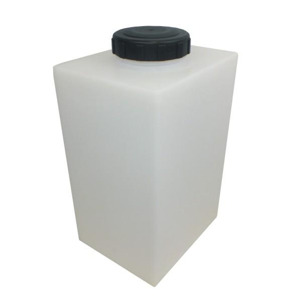70 litre round industrial water tank including hozelock tap garden caravan clean